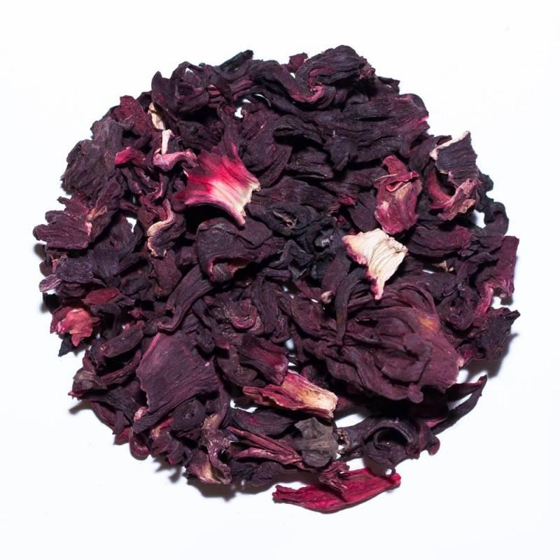 Из чего делают чай каркаде – эликсир молодости и здоровья
