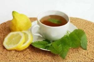 Крепкий чай помогает при диарее