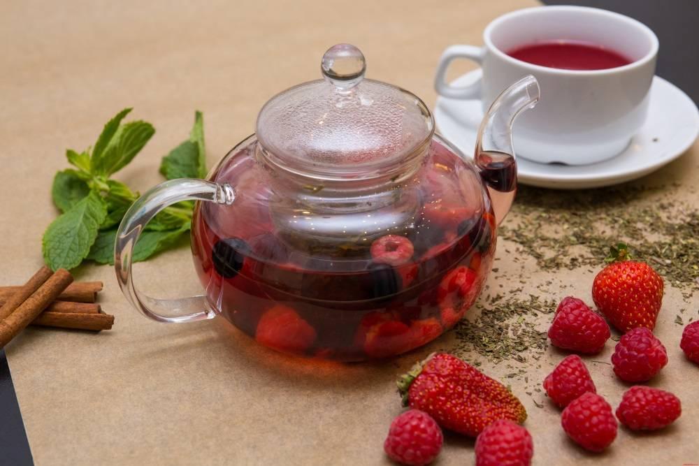 Чай из земляники польза и вред