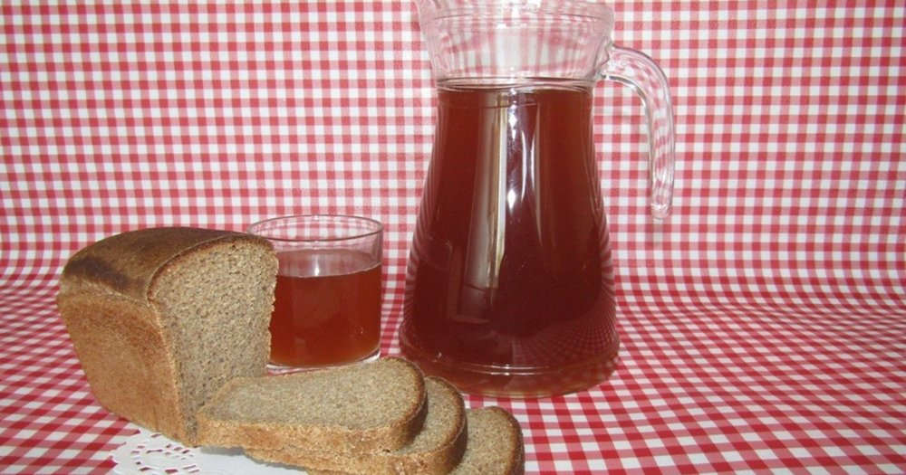 Квас без дрожжей в домашних условиях из черного хлеба (рецепты приготовления)