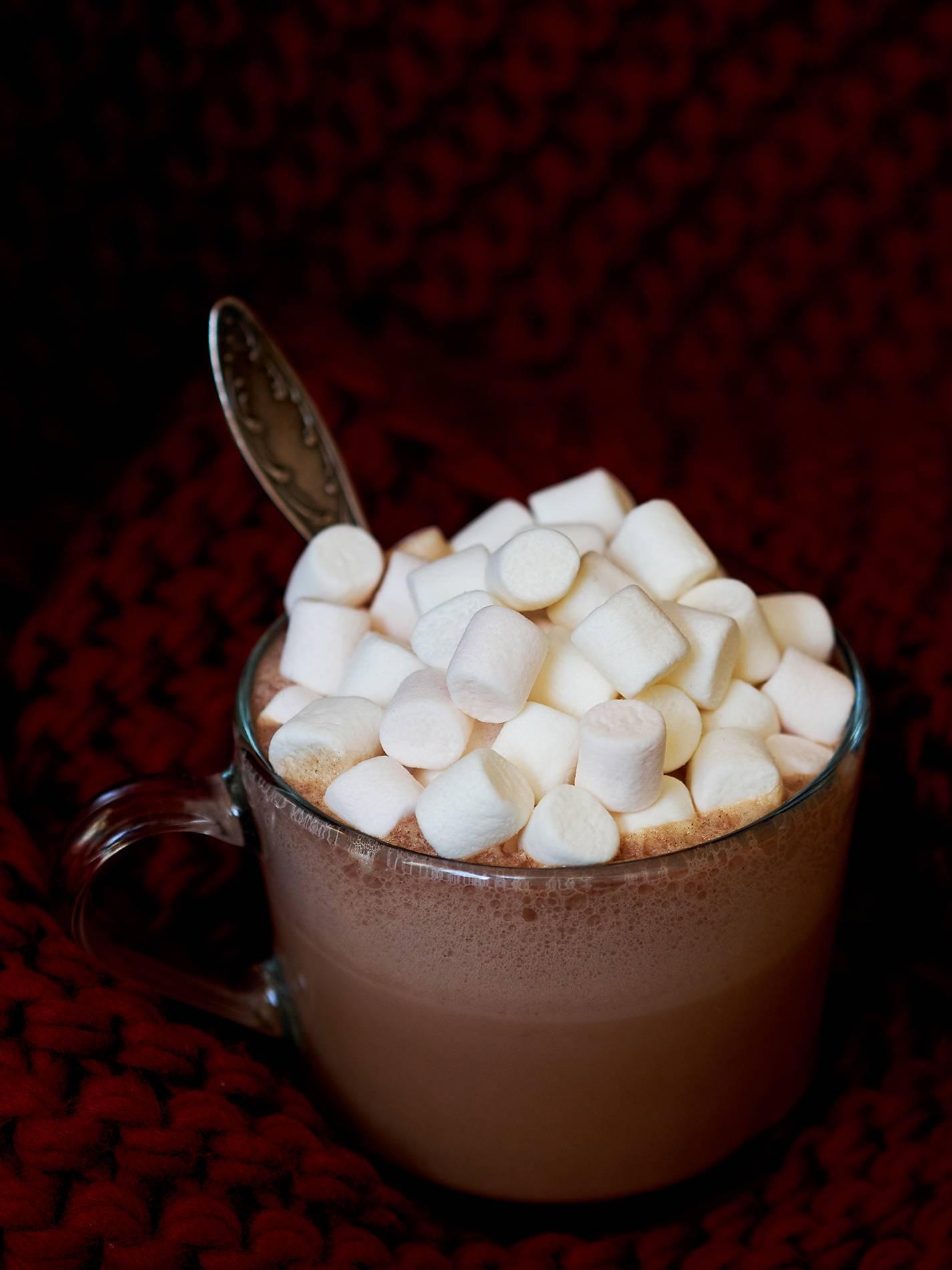 Рецепт кофе с зефирками