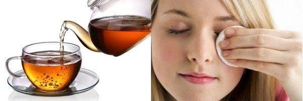 Как промыть глаза чаем: рецепты применения чайной заварки, примочки от усталости, польза и вред