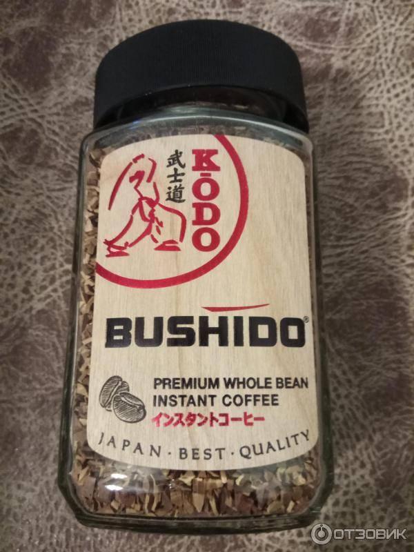 Ассортимент и описание кофе торговой марки бушидо