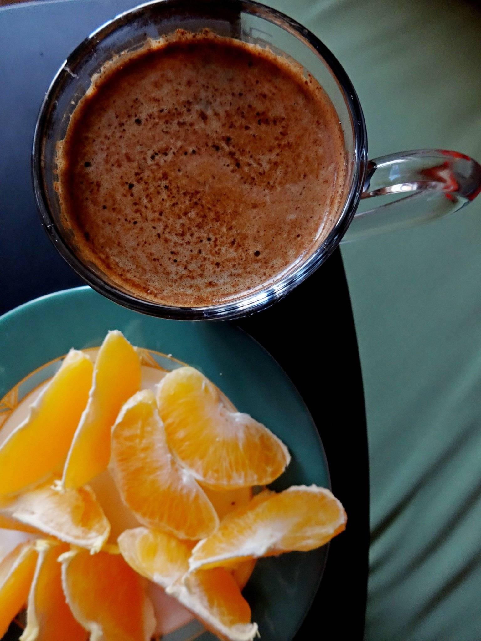 Кофе с соком