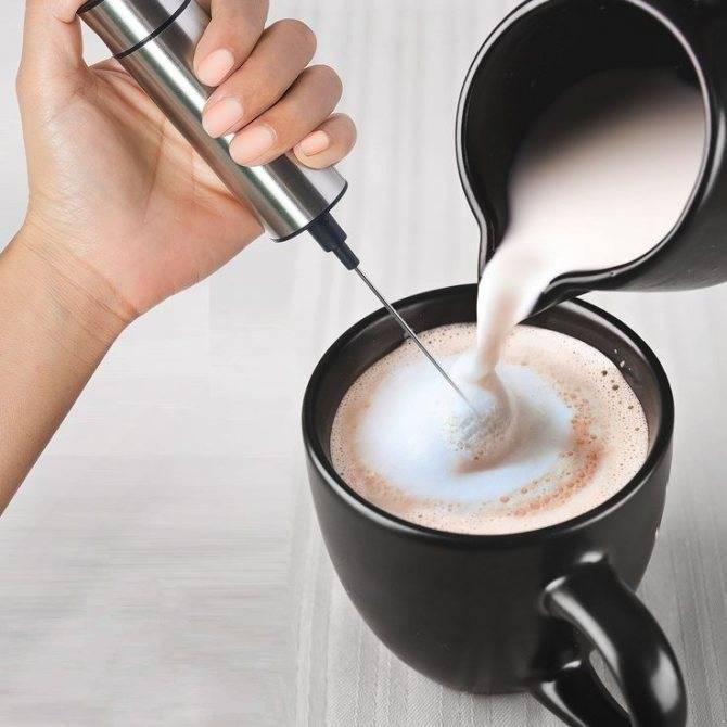 Как взбить молоко для капучино правильно…