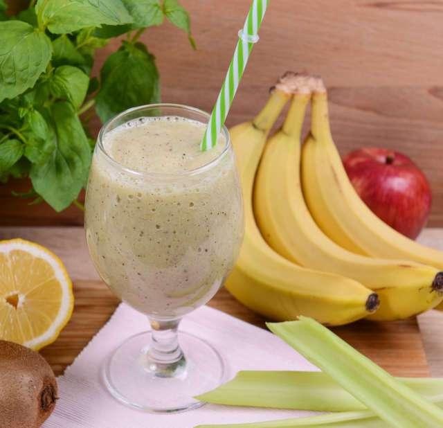 Пошаговый рецепт приготовления бананового смузи