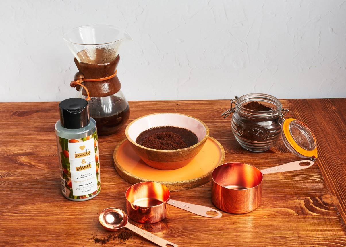 Маска для волос с кофе: кофеин, ополаскиватель для окрашивания в домашних условиях из кофейной гущи, отзывы