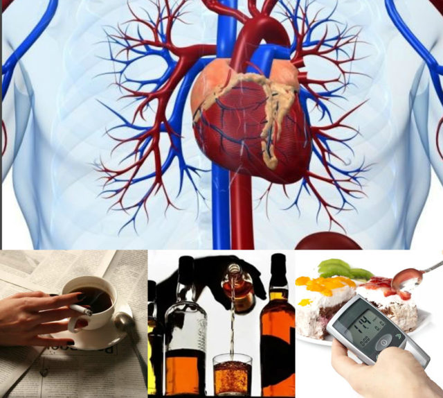 Действие кофе на сосуды и сердце