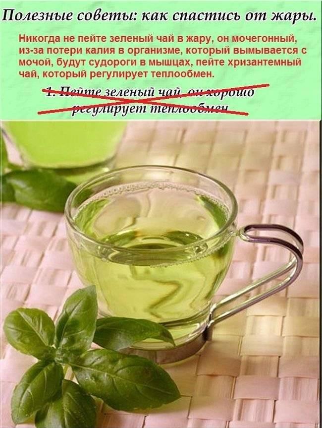 Почему от жары горячий чай помогает лучше, чем холодные напитки? - zefirka