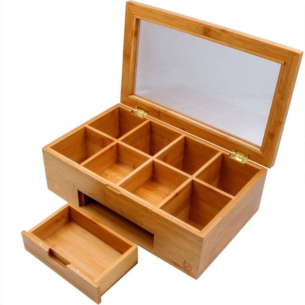 Что можно сделать из коробки из под чая своими руками: органайзеры, поделки, декор из чайной коробки, домики, шкатулки