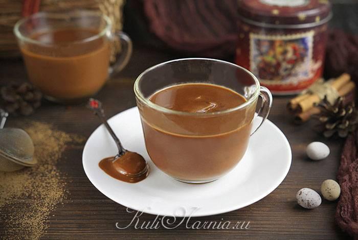 Горячий шоколад из какао порошка: способ приготовления