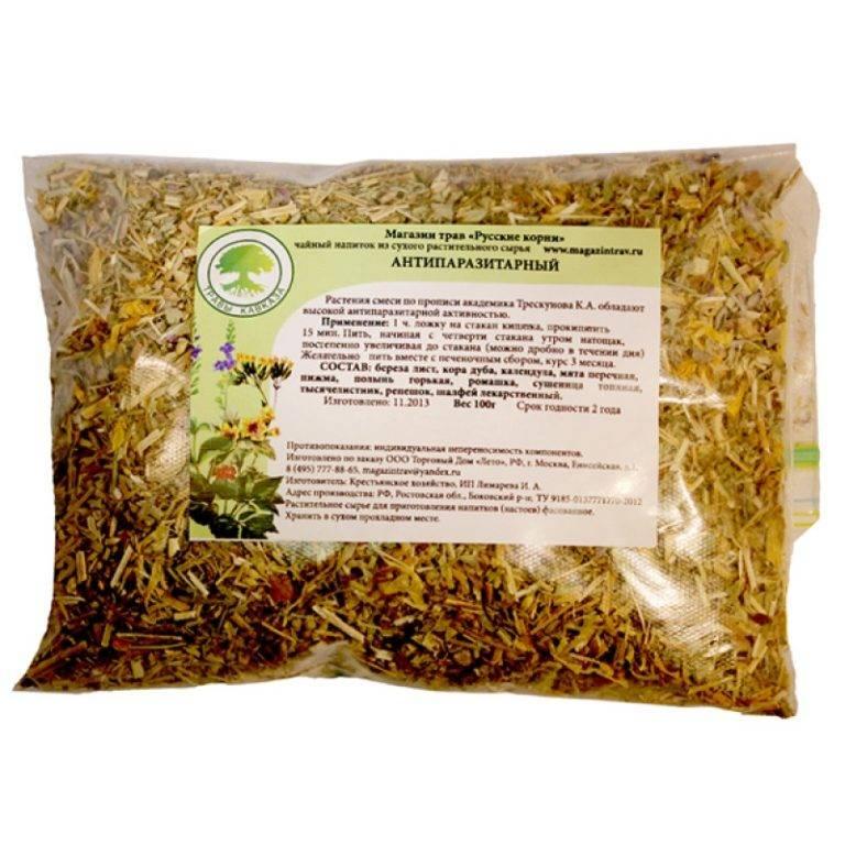 Антипаразитарный чай: состав, как сделать в домашних условиях, пропорции травы, рецепты