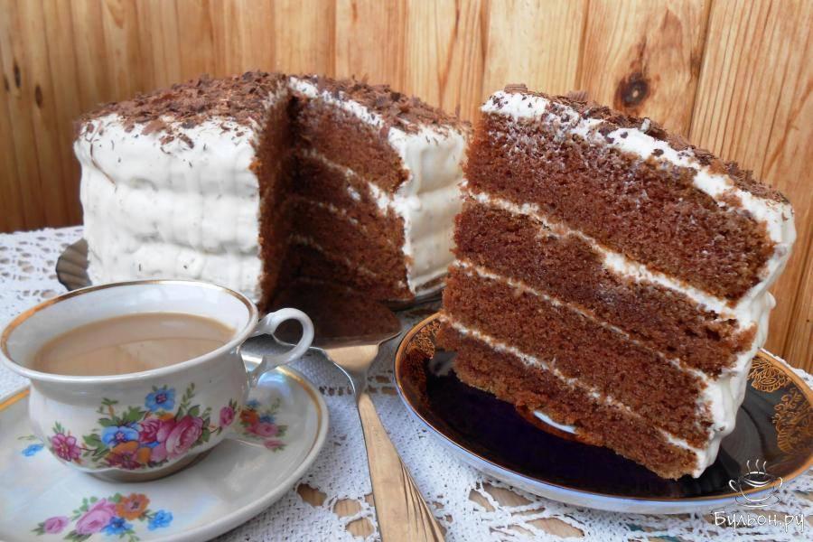 Рецепты простых шоколадных тортов с какао-порошком