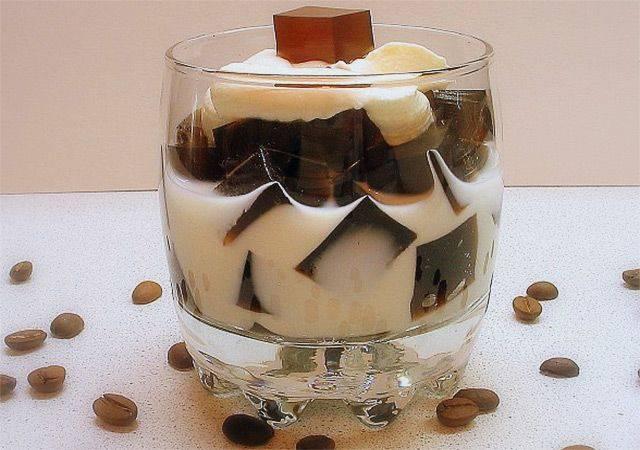 Рецепты приготовления желе из молока