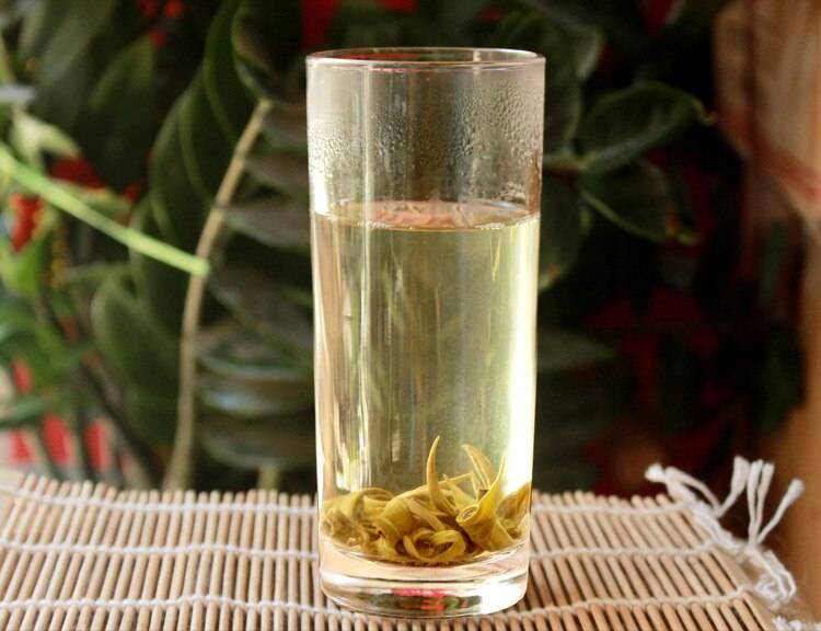 Зеленый чай Нефритовые кольца с оригинальной скруткой