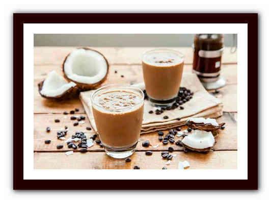 Кофе с кокосовым молоком: рецепты, калорийность, польза