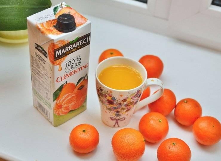 Мандариновый сок - 125 фото приготовления коктейля с натуральным соком из мандарин