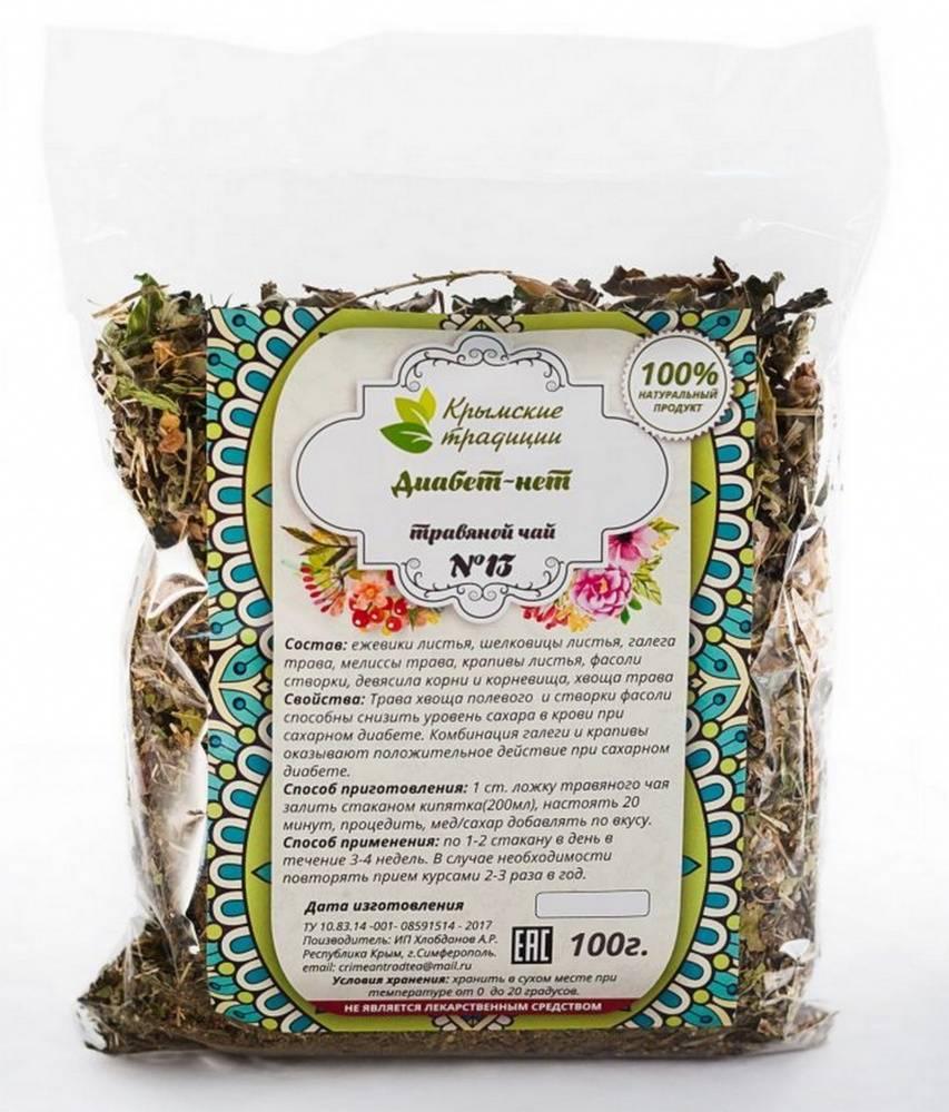 Монастырский чай от сахарного диабета 2 типа - состав трав