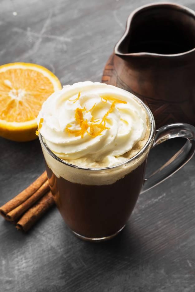 Кофе с апельсиновым соком рецепт