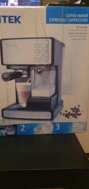 Обзор на кофеварку рожкого типа vitek