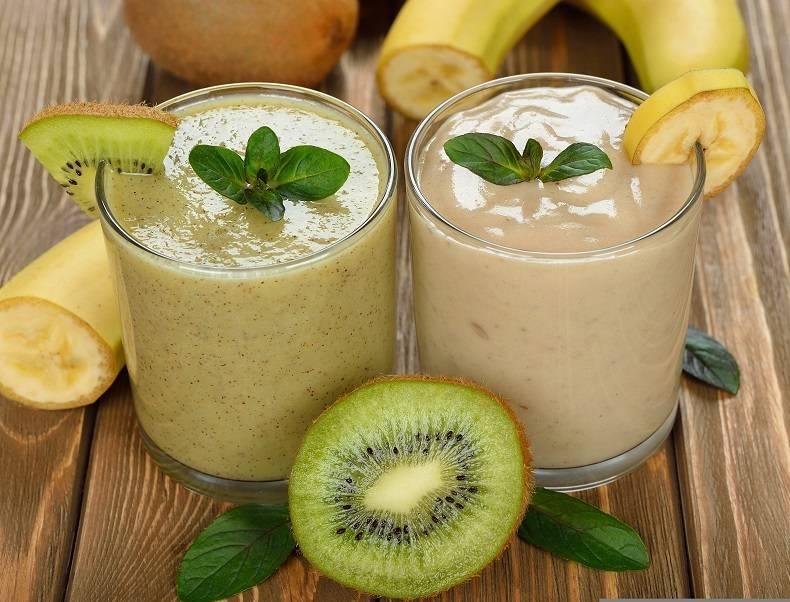 Апельсиново-банановый смузи на кефире рецепт с фото пошагово - 1000.menu