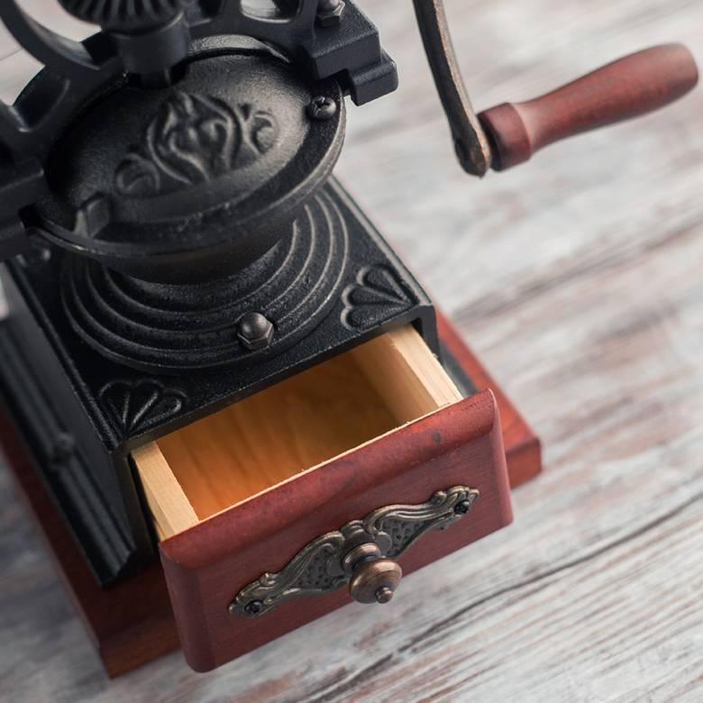 Кофемолка: ручная деревянная и механическая мельница для кофе, как выбрать гриндер с регулировкой степени помола, как настроить