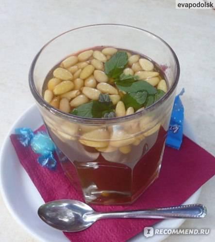Чай с кедровыми орешками - pirozhka.ru