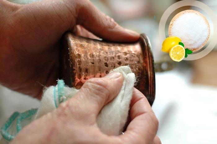 Как почистить медь в домашних условиях