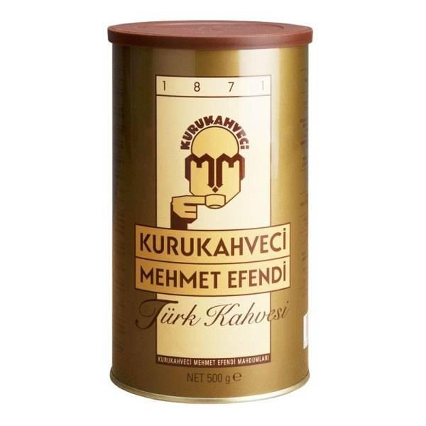 Кофе молотый турецкий kurukahveci mehmet efendi 500 г, цена 450 грн./упаковка, купить в харькове
