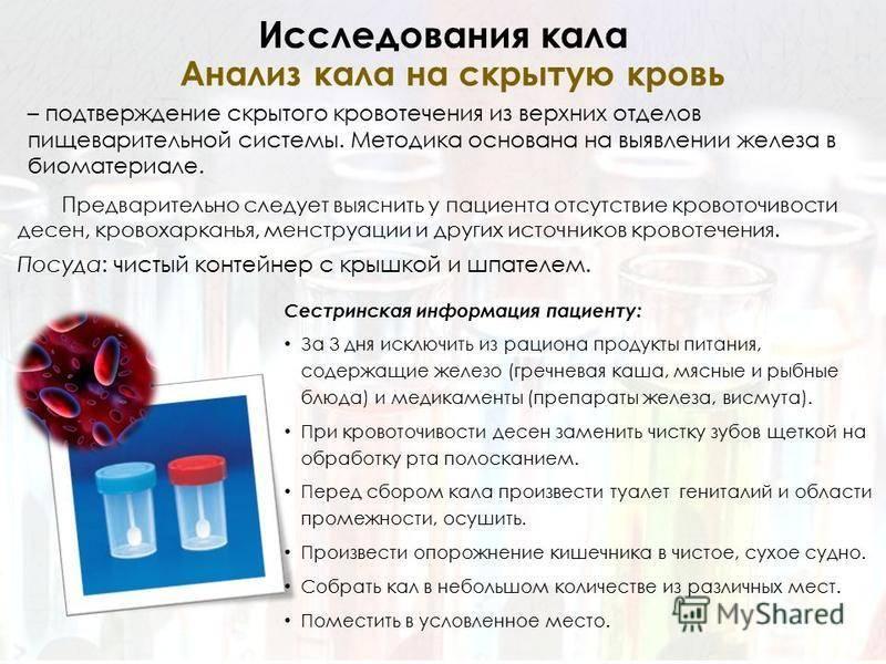 Что нельзя делать перед анализом крови?