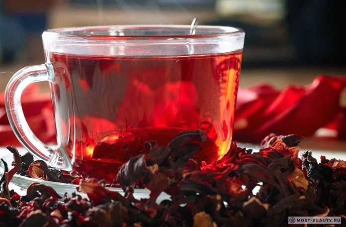 Чай каркаде — полезные свойства и противопоказания