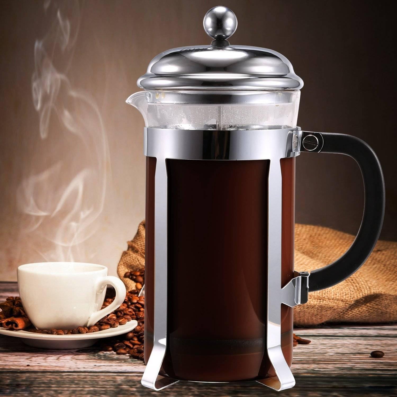 Как заваривать кофе в френч прессе