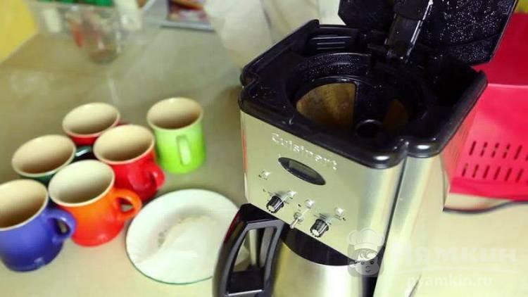Как почистить кофеварку от накипи в домашних условиях: способ