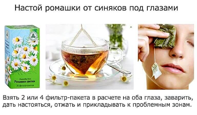 Чем полезны примочки для глаз из чая и как их правильно делать
