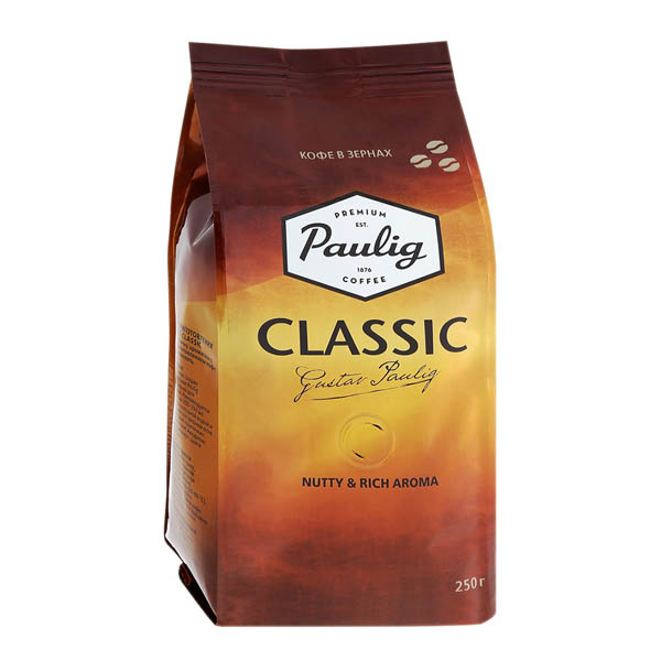 Кофе паулиг классик (paulig classic) молотый 250 г