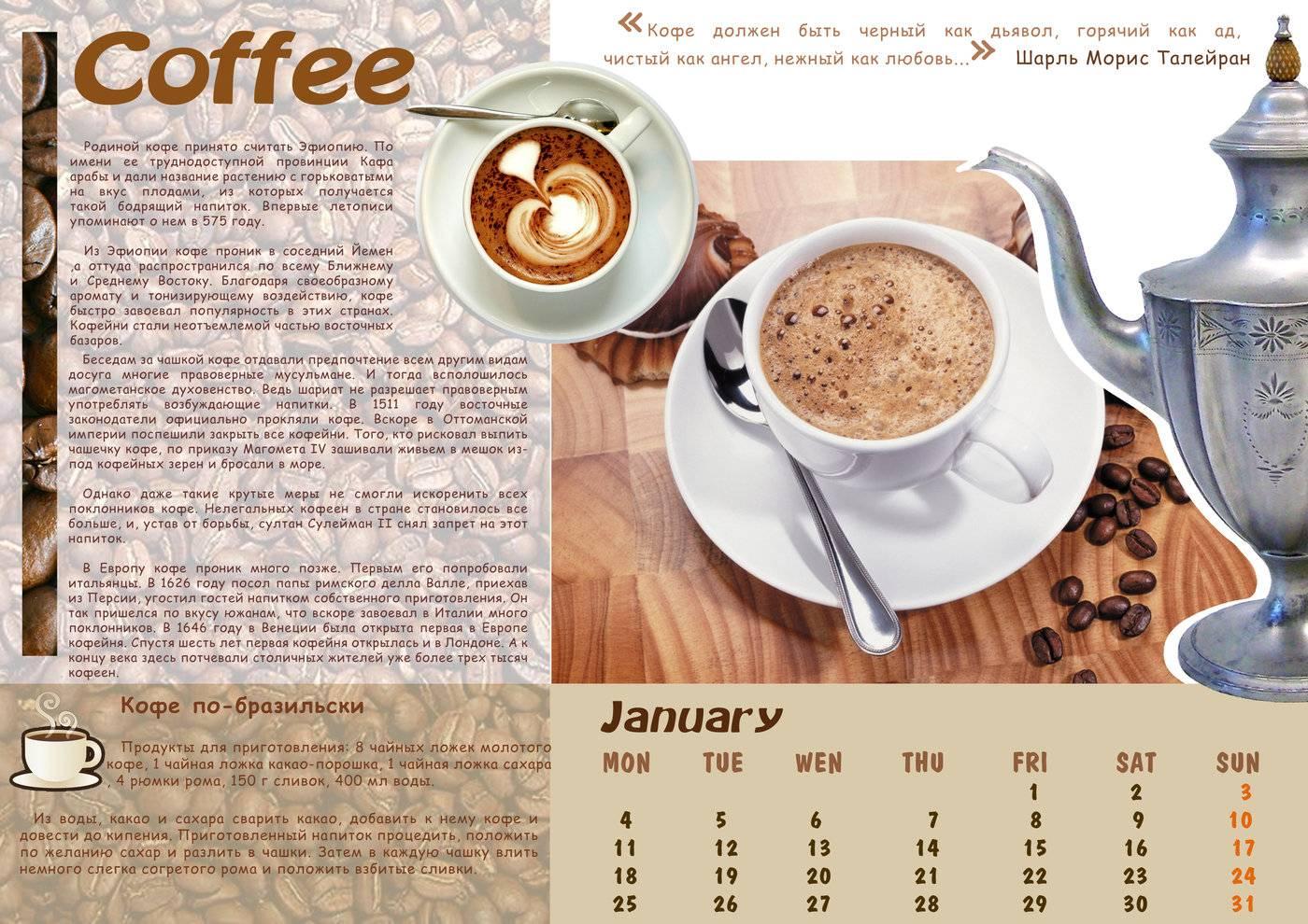 Сколько кофе в одной чашке