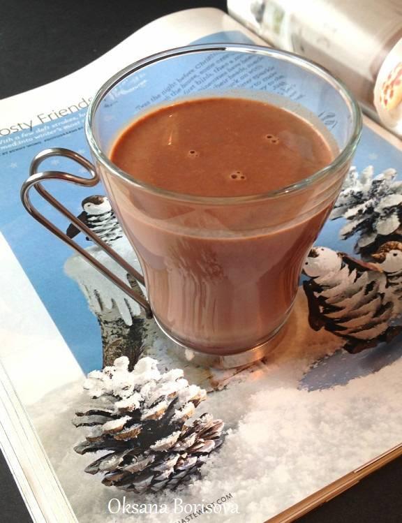 Горячий шоколад зимний вечер рецепт игра кофейня