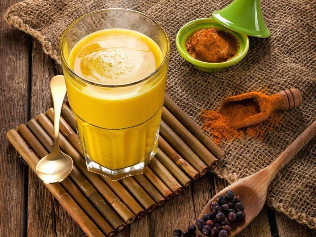 Как пить  куркуму с молоком, медом. чай, кофе, сок с  куркумой