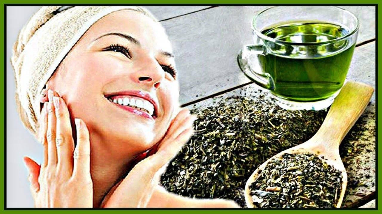 Применение зеленого чая для волос
