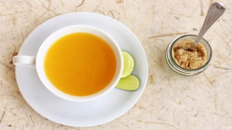 Полезное чаепитие с куркумой