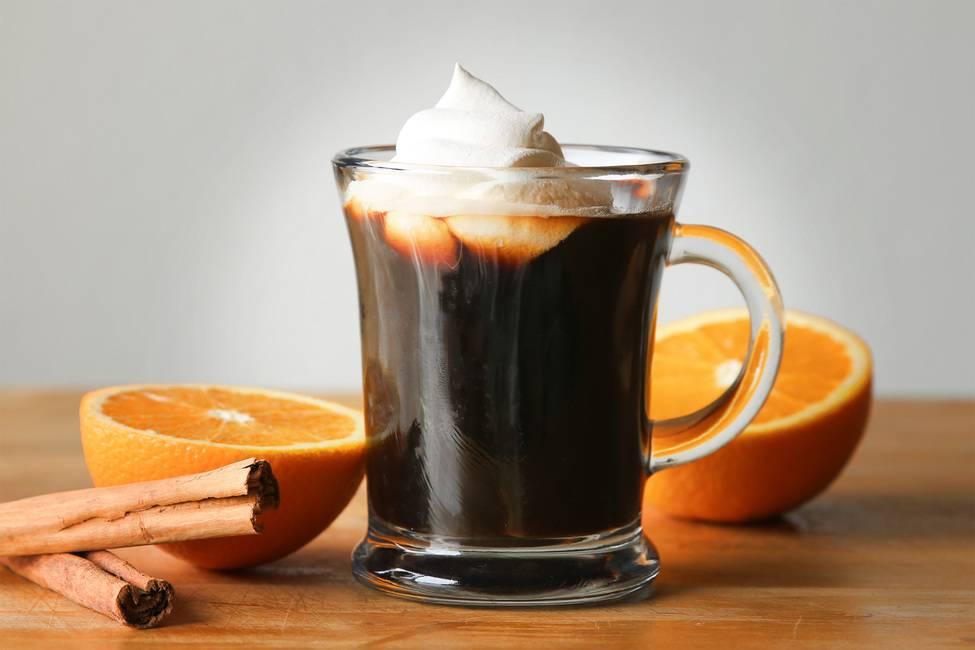 Как изготовить кофе с апельсином?