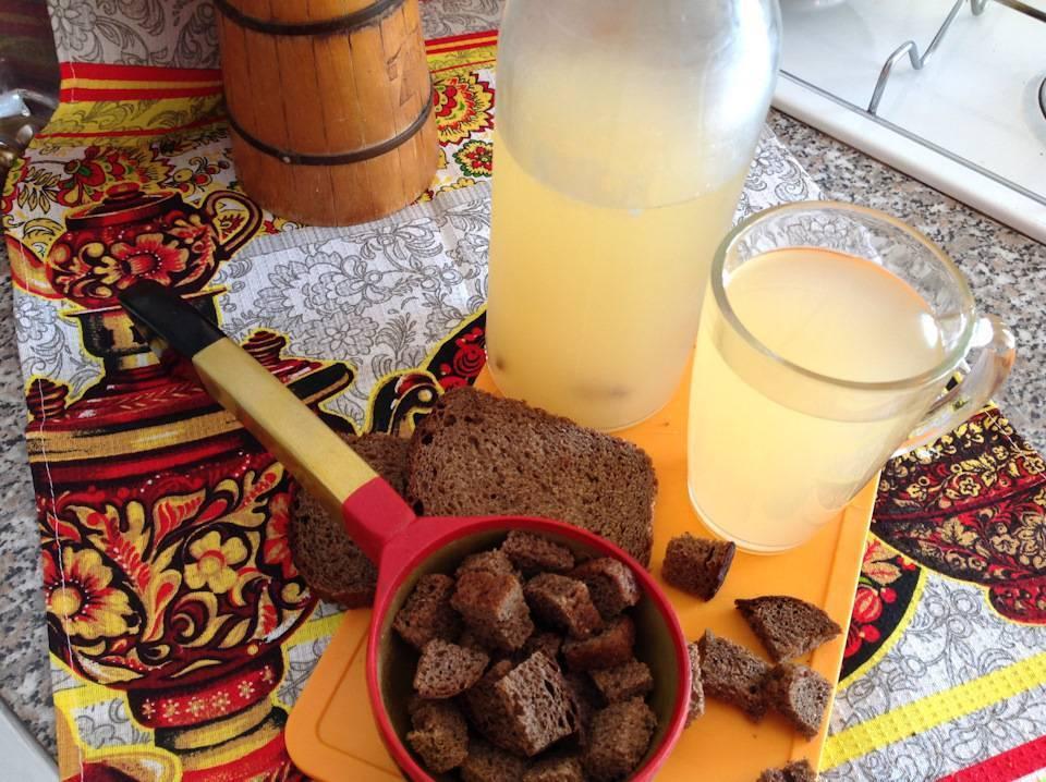 Домашний хлебный квас – как приготовить вкусный квас из хлеба