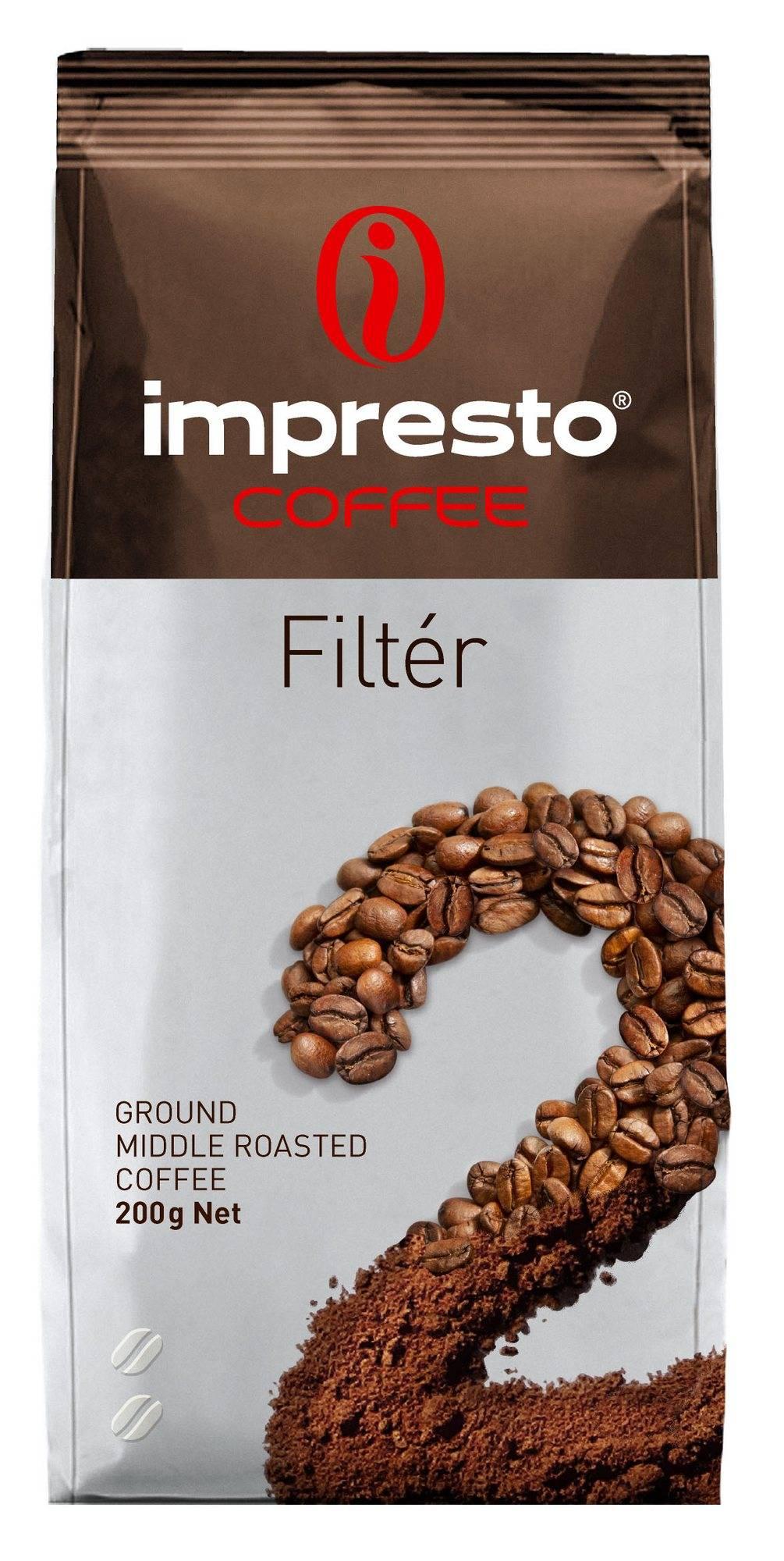 Кофе impresto (импресто) - бренд, ассортимент, отзывы, цены