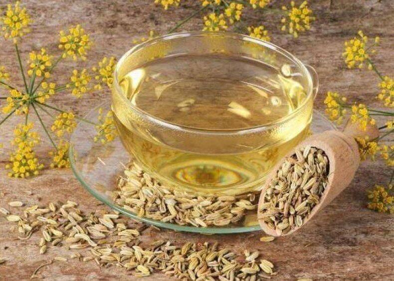 Чай с фенхелем: для новорожденных и кормящих мам, детский фенхелевый напиток от коликов для грудничков, полезные свойства и противопоказания