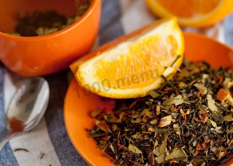 Апельсиновый чай — пошаговый рецепт с фото