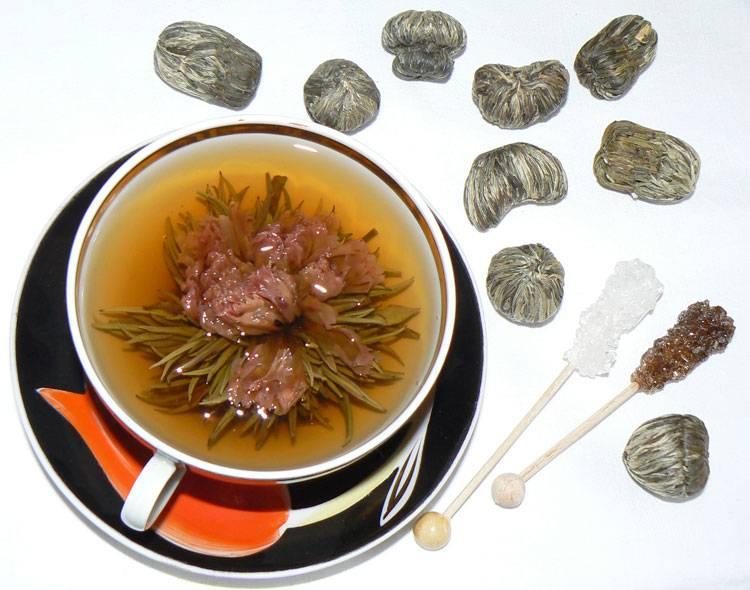 Связанный чай – цветочный чай: изучаем со всех сторон
