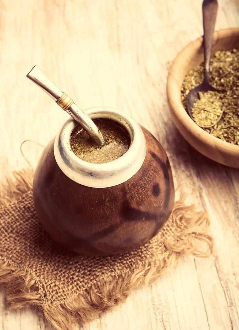 Как заваривать и пить чай мате, правильно приготовить его