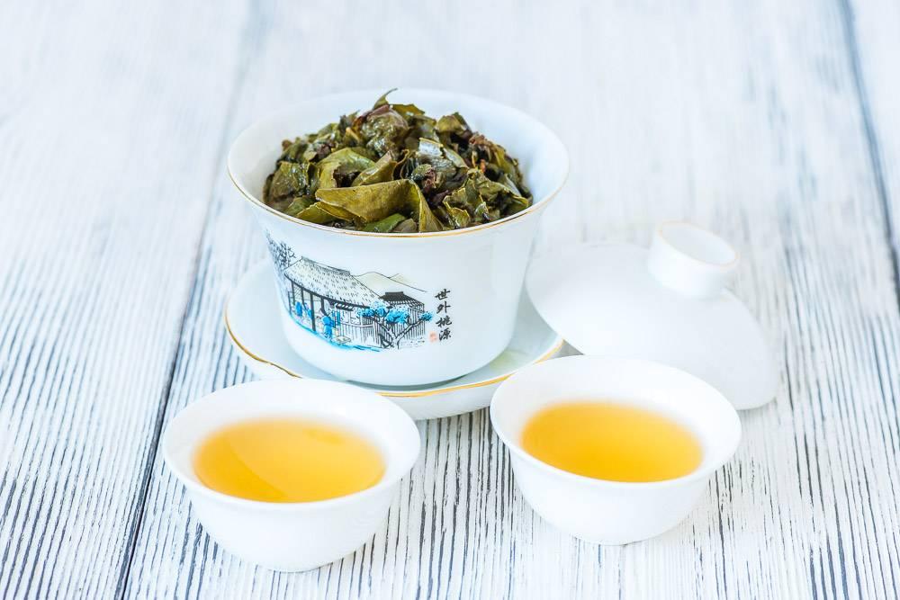 Знакомство с китайским чаем те гуань инь
