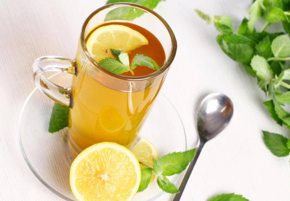 Зеленый чай с лимоном: польза и вред напитка с медом, чем полезен и можно ли пить холодным, простые рецепты