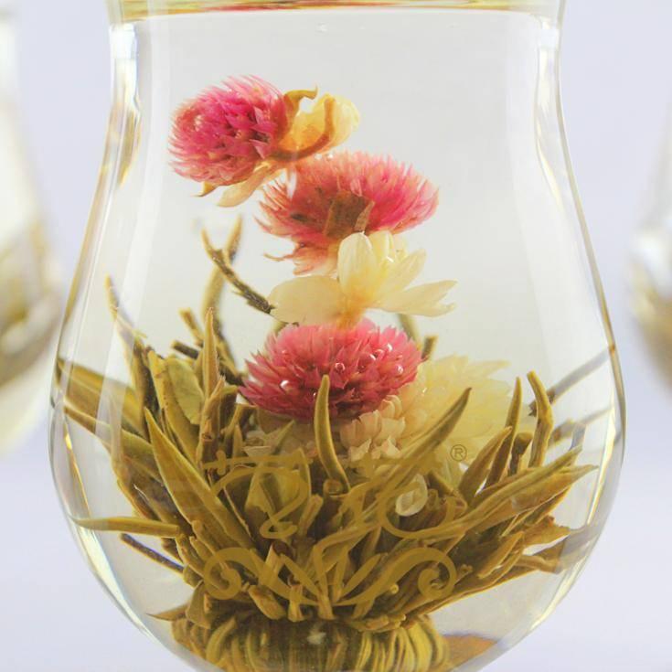 Чай-цветок, который распускается
